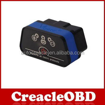 A + + qualità vgate ICAR 2 bluetooth elm327 obd obdii obd2/WiFi olmo 327 auto diagnostica strumento di supporto(Bluetooth 4.0)