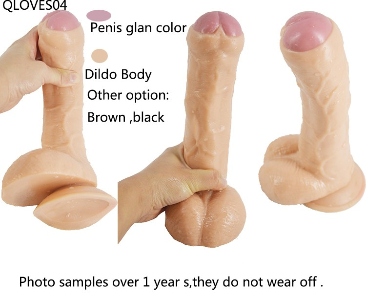 Big dildo soft i'm love