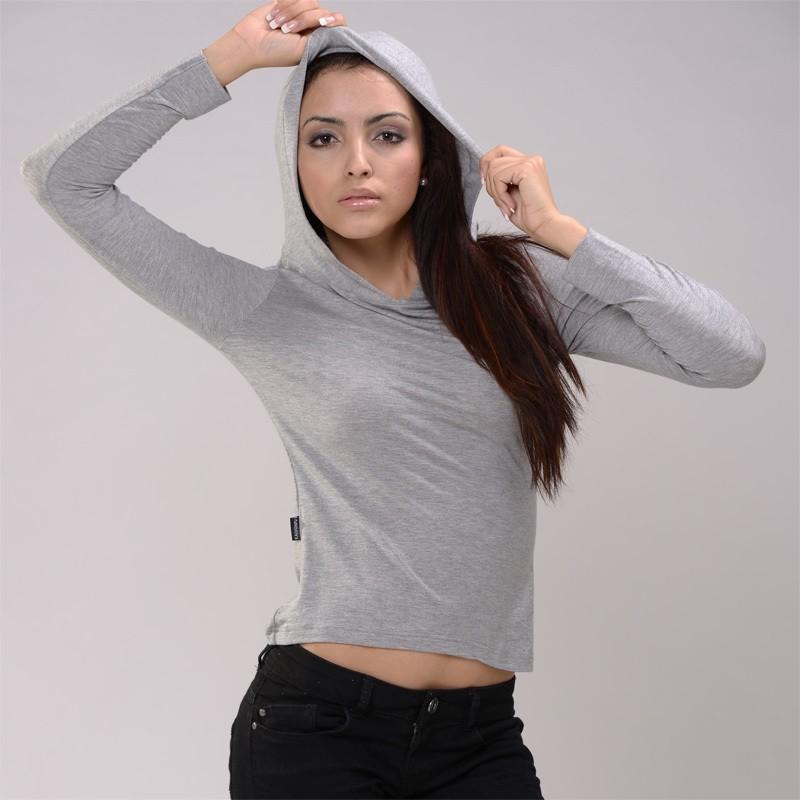 Womens Modal Blank Hoodie T Shirt Hoodie,T-shirt Hoodies Wholeasle ...