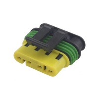 4 pin plastic waterproof auto wire harness connector HD0420-1.5-21