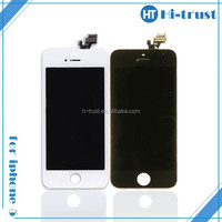 HOT SALE! Free DHL Shipping Cheapest high quality for white iphone 5 lcd screen