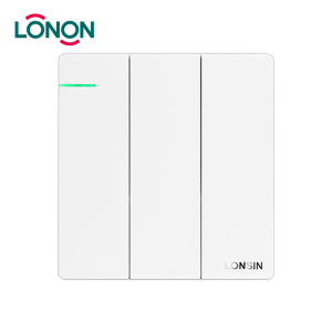 Electrical Switches Bangladesh Big Panel 3 Gang Dimmer Switch