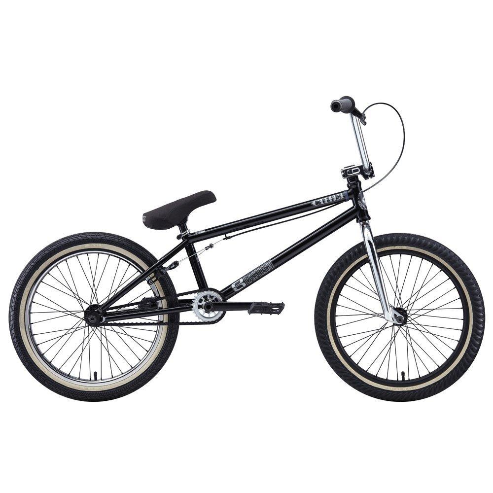 Eastern Bikes Chief 2013 Edition BMX Bike (Matte Black/Chrome Front/Black Rear Rim, 20-Inch)