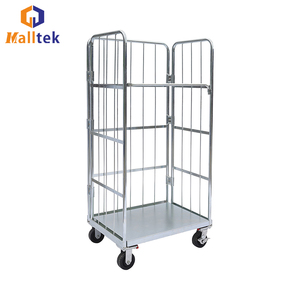 Wholesale Heavy Duty Warehouse Foldable Roll Container