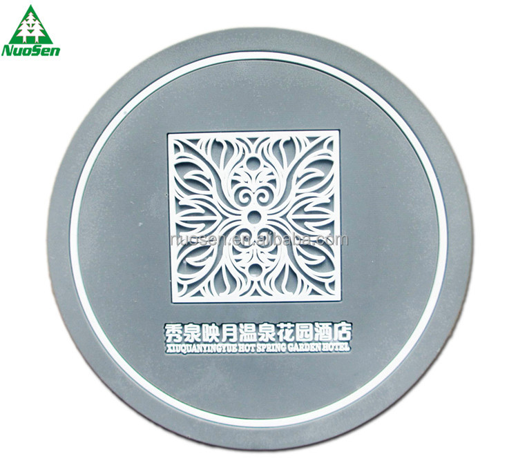 Factory Price Wholesale Tea Pvc Coffee Rubber Table Coaster Holder