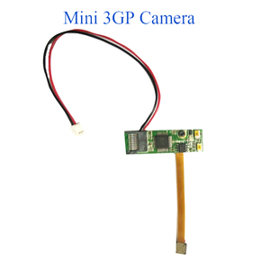 Spi Camera Module Spy Gadgets Mini Digital Video Camera 3GP Format PCBA with 640x480 Resolution and Motion Detection