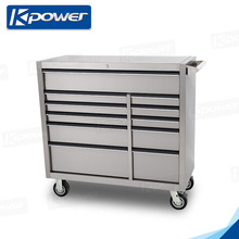 41 Inch 11 Drawers Trolley Stainless Steel Tool Box