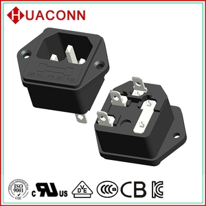 99-f1 best quality crazy Selling stylish abs/pc ac plug socket