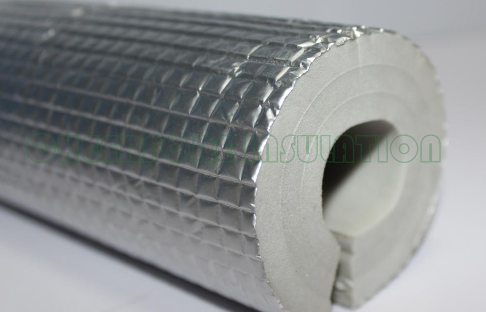 Isolated Pe Foam Thermal Insulation Pe Foam Tube Close