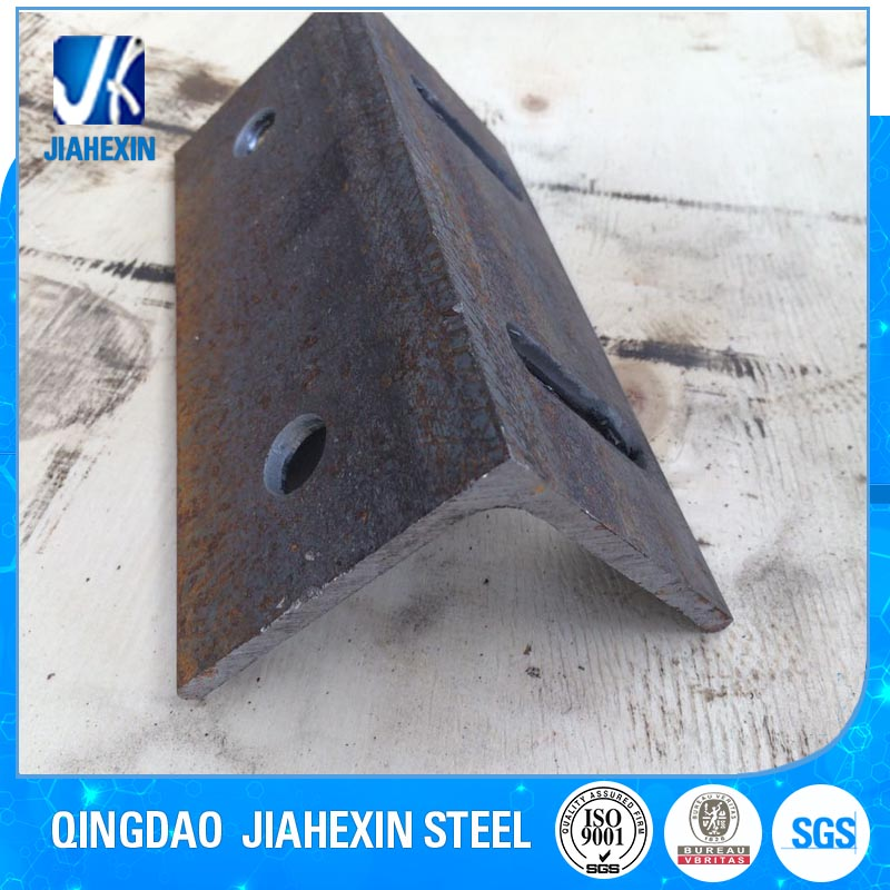 Custom metal sheet fabrication galvanized angle bracket