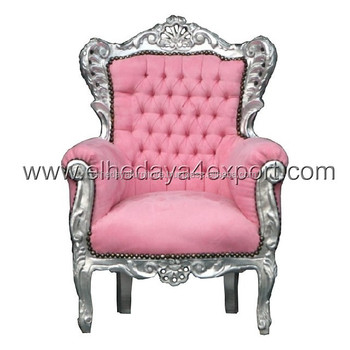 Exceptional Baroque Child Armchair