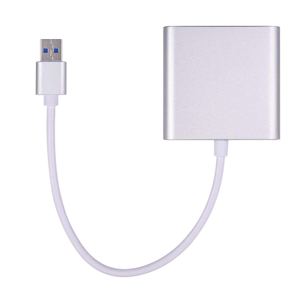 Docooler Card Reader USB 3.0 OTG SDXC TF CF 3 in 1 for Tablets PC Laptop Computer with USB Cable