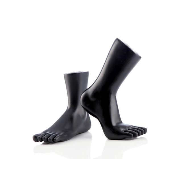 B Baosity 4pcs Pieds de Mannequin Femme Pr/ésentoir en Plastique pour Chaussures de Magasin