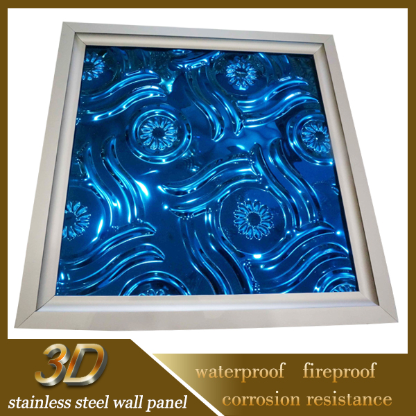 Modern Lightweight Metal Art Ceiling Panels For Grogshop