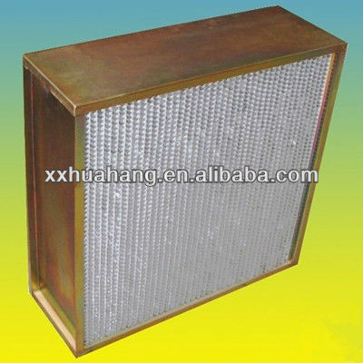 HEPA filter humidity resistance clapboard air filter