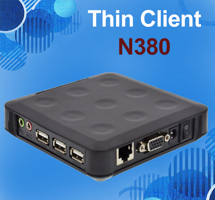 N380 WIN.CE 6.0 thin clients wtih 3 USB ports ARM11 800MHz 128M RAM 128M Flash turn one into 100 users