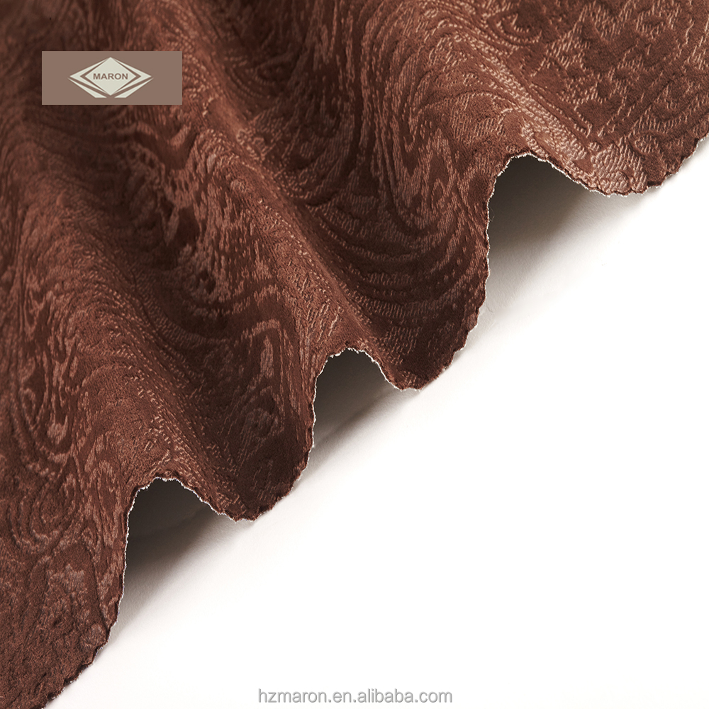 100%polyester boned velvet microfiber fabric for sofa