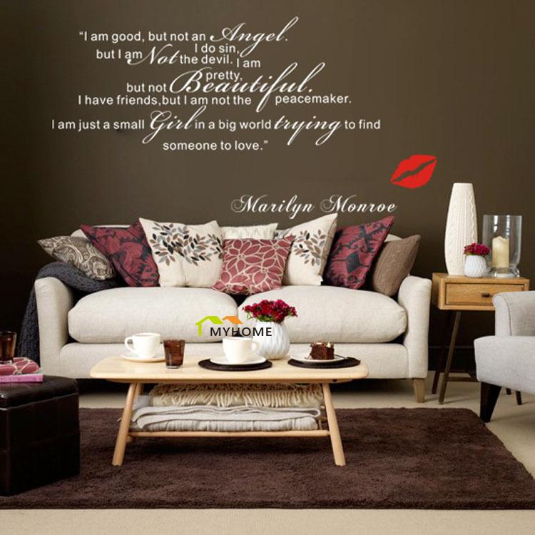 Marilyn Monroe Living Room Decor - Zion Star