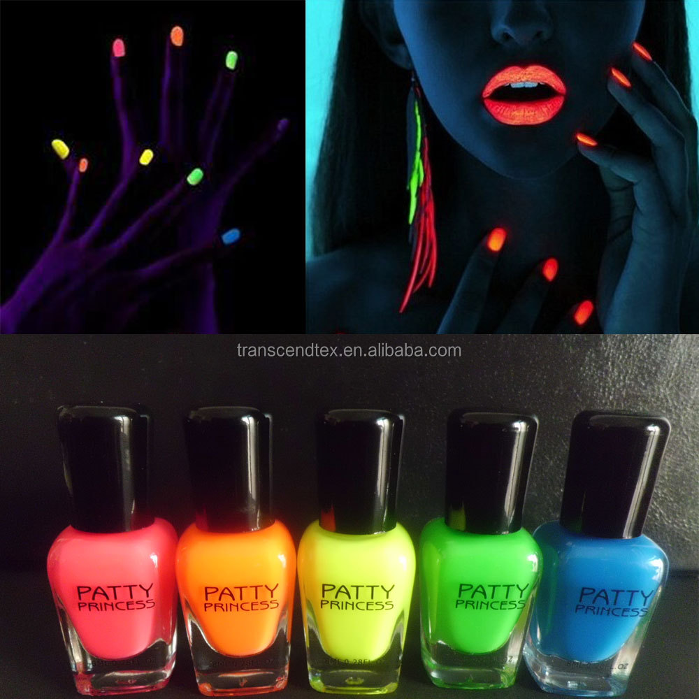 8 ml uv stampanti fluorescente al neon nail polish