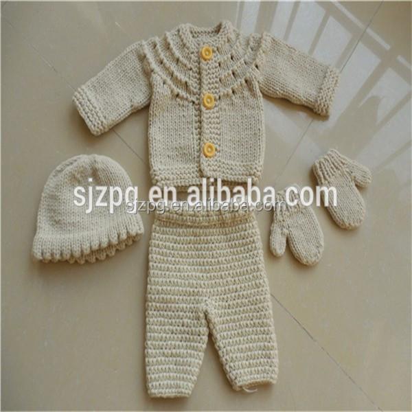 Fabricante De Ropa Del Bebé Del Ganchillo,Crochet Patrón Ropa Traje ...