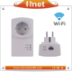 Hnet Passthrough Homeplug AV Powerline Adapter Sharing Hotel Home Wifi