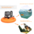 Float Mount Accessories Floaty Pet Frisbee Mount Tripod Adapter for GoPro HERO 6 5 Hero6 5 4 5S 4S Fusion Cameras