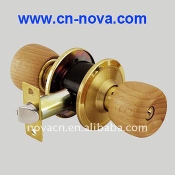 Genial Wood Door Knob, Hand Door Knob, Round Wooden Door Knob Lock Set