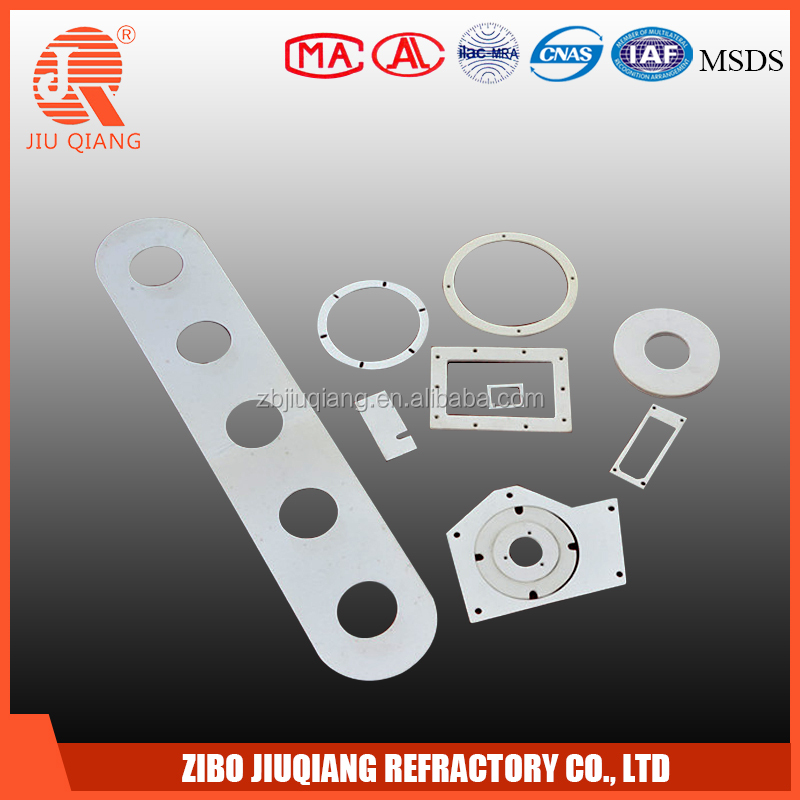 automotive hood insulation refractory high temperature resistant ceramic fiber gasket paper for electric fire