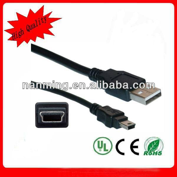 USB 2.0 Type A Mini B Cable 5m
