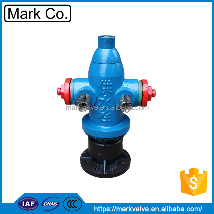 Supply different type water landing fire hydrant straight from factory