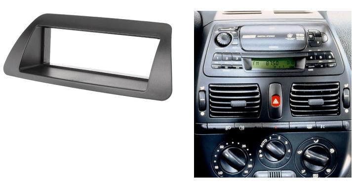 2 din autoradio fascia per fiat bravo 182 brava 182 marea 185 1995 2001 stereo montato. Black Bedroom Furniture Sets. Home Design Ideas