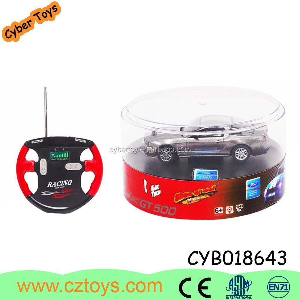 2015 hot sale 1:43 electrical vehicle toy with remote control passed the EN71/7P from shantou