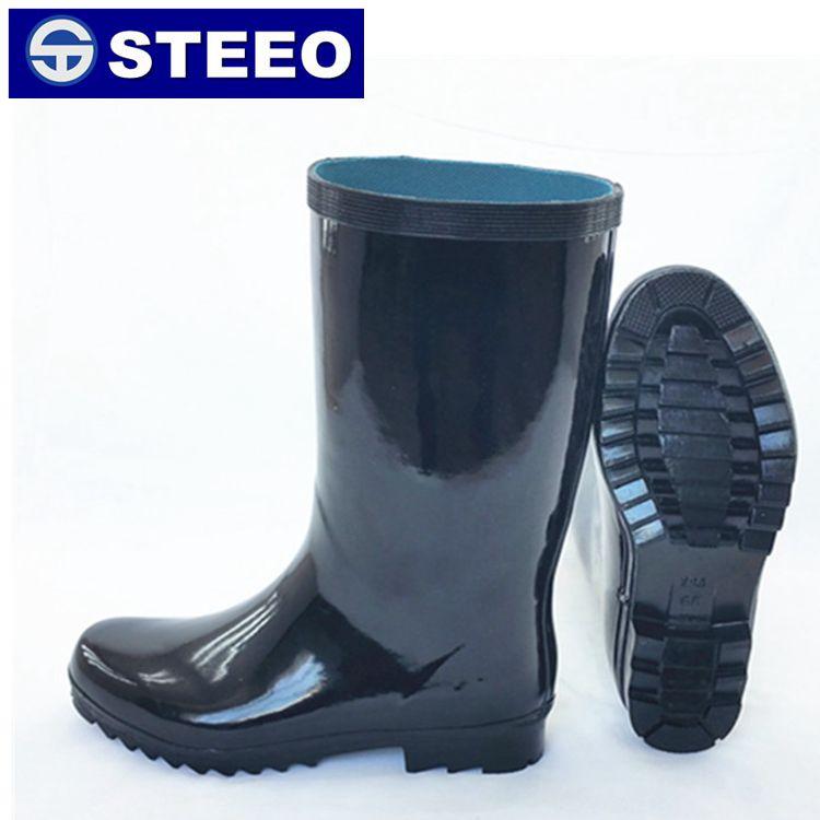 Half Boots Anti-slip Rubber Men Rain