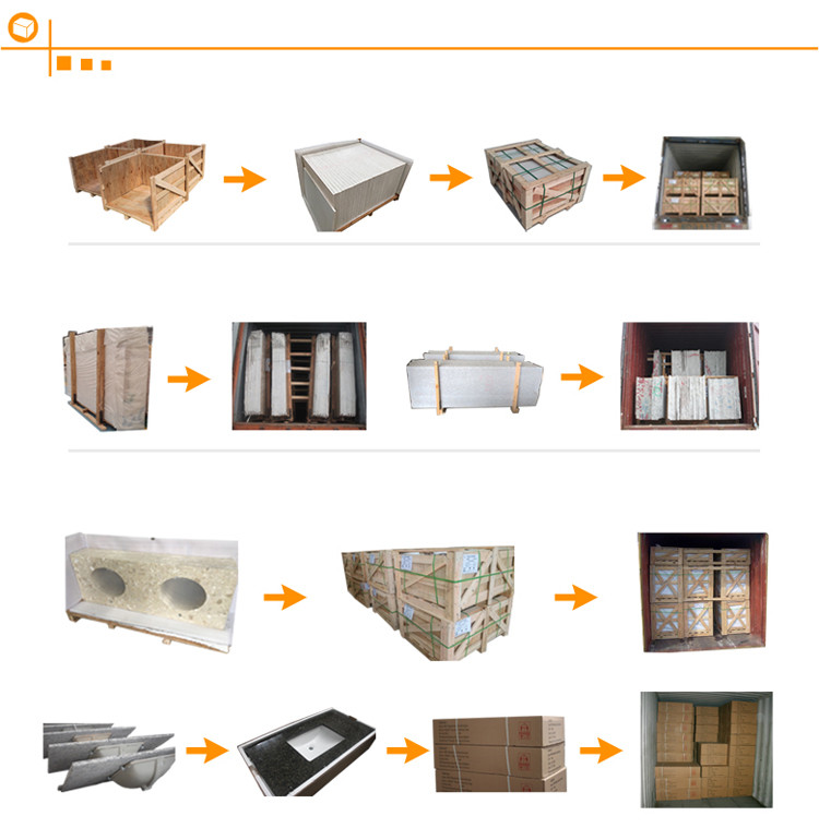 Best quality low price chinese swan white granite kitchen countertops