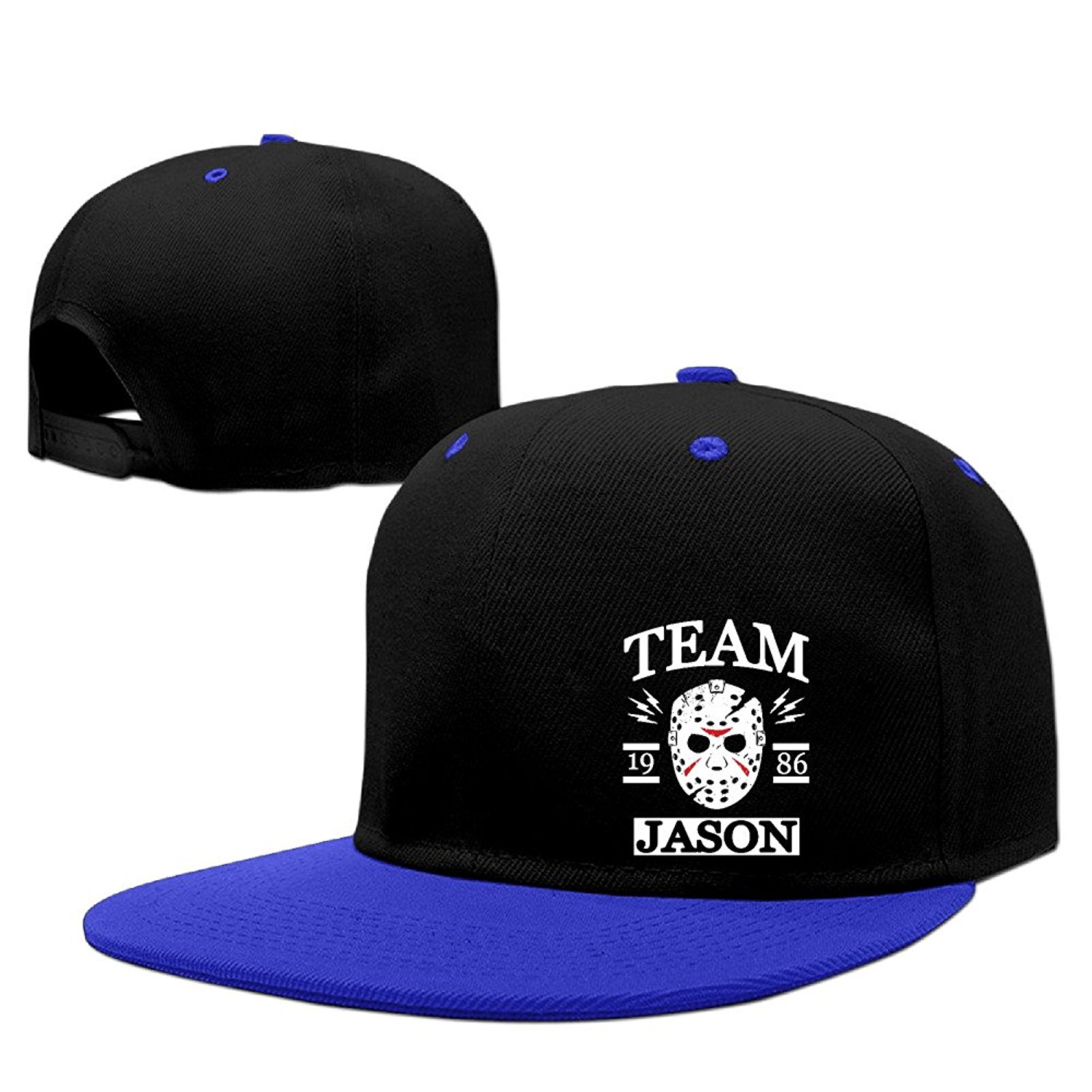 3d98be63fc8 Get Quotations · Team Jason Friday The 13th Baseball Caps Hat Snapback  Cotton