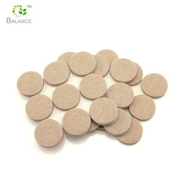 Self Adhesive Furniture Feet Felt Pads For Table And Chair Leg