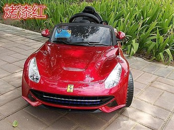 Kids Barber Chair With Car Modle In The Color Of Red - Buy Electric ...