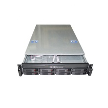 Industrielle 2U 8bay lagerung server rack mount computer fall chassis für E-ATX/ATX/ITX board