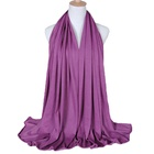 Quality Stoles High Quality Jersey Scarf Stretchy Hijab Plain Headscarves Wholesale Women Stoles Hijab