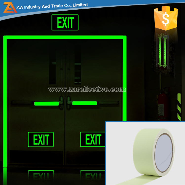 Safety Downward Exit Sign Guide Reflective Luminous