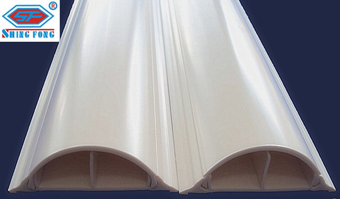 Flexible Wire Molding : Plastic pvc cable trunking size for mauritius market buy
