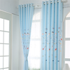 Cartoon children room sitting room bedroom finished curtain