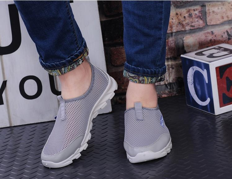 2385db653e6c6 New model summer beach shoes fashion mesh comfortable sport shoes for men