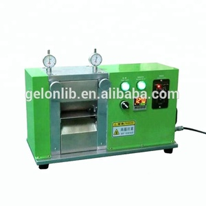 Continuously calendar making machine for lithium ion battery production line
