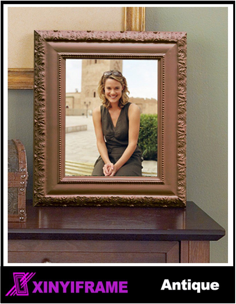 Wooden Mdf Glass Metal Photo Frame
