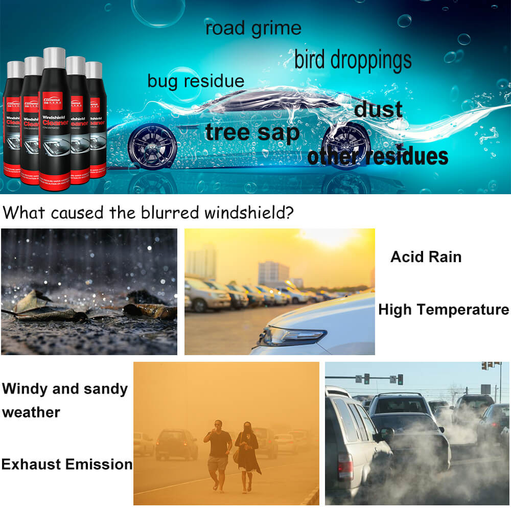 car care windscreen cleaning liquid glass car polish windshield easy cleaner washer fluid concentrate windshield cleaner