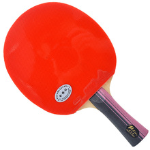 Palio 3 star <span class=keywords><strong>tafeltennis</strong></span> <span class=keywords><strong>racket</strong></span> twee puistjes in rubber lange handvat carbon bat groothandel