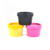 cosmetic packaging straight face cream container 50g 100g 200g plastic jar with screw cap