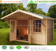 Small garden wooden cottage cabin kits for sale