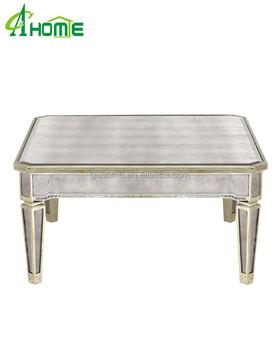 Vintage Design Di Lusso Di Alta Qualità Soggiorno A Specchio Tavolo Da Tè  Tavolino - Buy Vintage Design Tavolo Finale,Di Alta Qualità Tavolo Da Tè ...